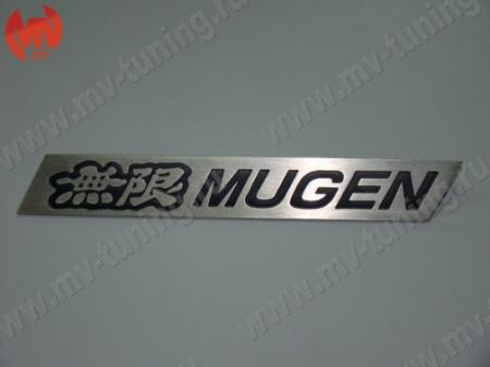 """СтальШильдик для решетки радиатора """"MUGEN Style"""""""